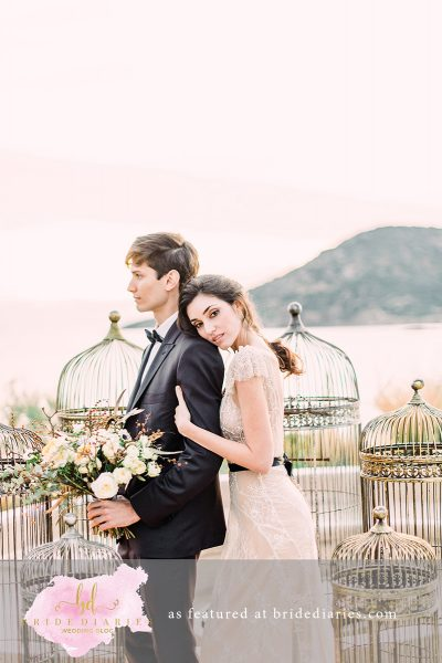 Wedding Inspiration Mε Garden Roses Kαι Χρυσές Λεπτομέρειες – Bride Diaries